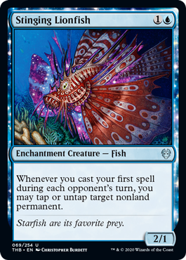 Stinging Lionfish - Foil
