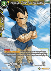 Vegeta, Time for Vacation - EX09-02 - EX