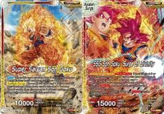 Super Saiyan Son Goku // SSG Son Goku, Surge of Divinity - EX09-03 - EX