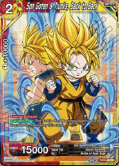 Son Goten & Trunks, Back to Back - EX09-05 - EX