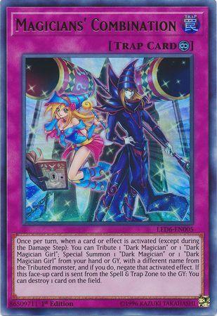 Magicians Combination - LED6-EN005 - Ultra Rare - 1st Edition