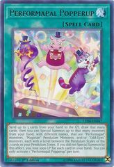 Performapal Popperup - LED6-EN047 - Rare - 1st Edition