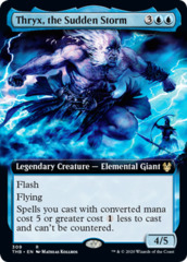 Thryx, the Sudden Storm - Extended Art