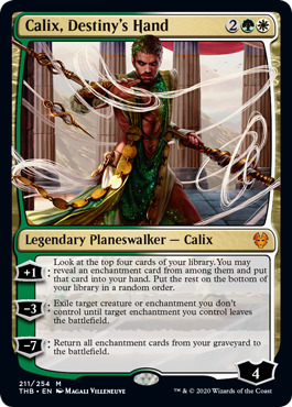 Calix, Destinys Hand