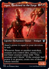 Anax, Hardened in the Forge - Foil - Showcase