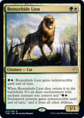 Bronzehide Lion - Foil