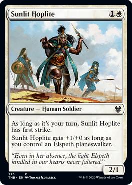 Sunlit Hoplite - Planeswalker Deck Exclusive