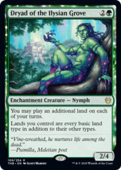 Dryad of the Ilysian Grove - Foil