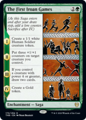 The First Iroan Games - Foil