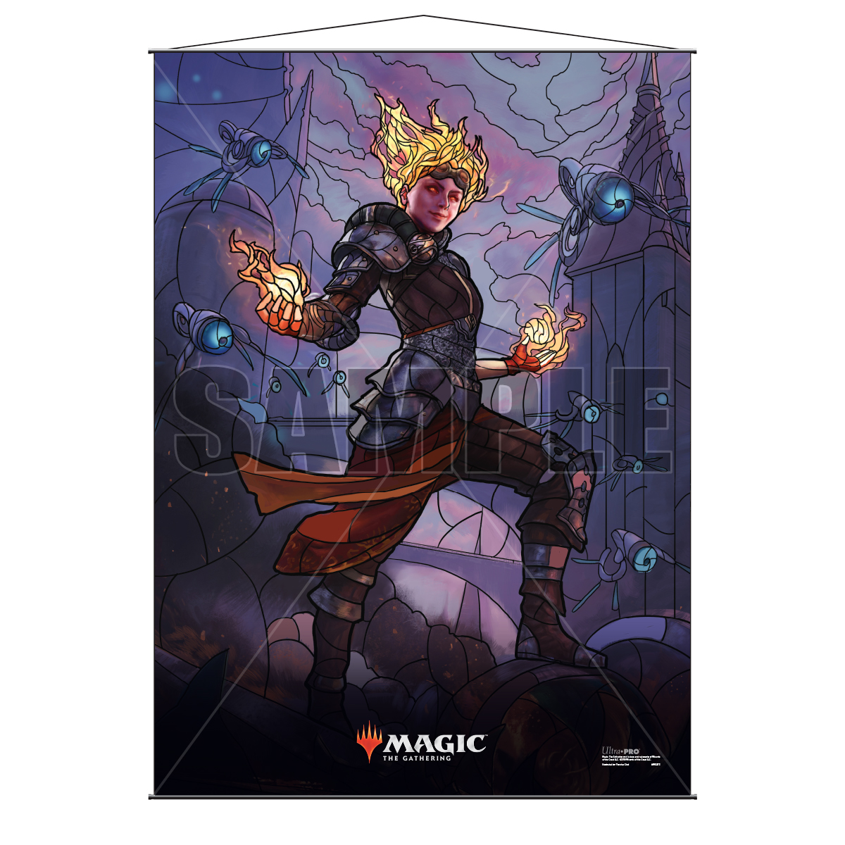 Ultra Pro Wall Scroll War of the Spark Stained Glass Chandra