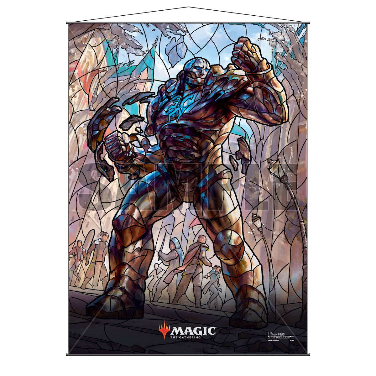 Ultra Pro Wall Scroll War of the Spark Stained Glass Karn