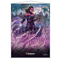 Ultra Pro Wall Scroll: Magic The Gathering - Stained Glass Planeswalkers - Liliana