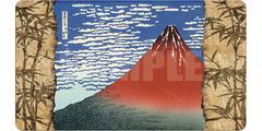 Ultra Pro - Fine Art Playmat: Red Fuji