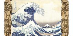 P156 - Ultra Pro - Fine Art Playmat: Wave Off Kanagawa