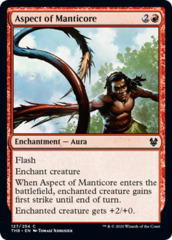Aspect of Manticore - Foil