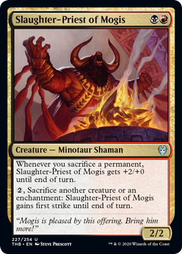 Slaughter-Priest of Mogis - Foil