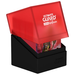 Ultimate Guard Deck Case Boulder 100+ Black/Red 2020 Exclusive