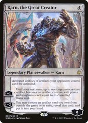 Karn, the Great Creator - Foil - Promo Pack