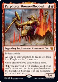 Purphoros, Bronze-Blooded - Foil - Prerelease Promo