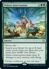 Nyleas Intervention - Foil - Prerelease Promo