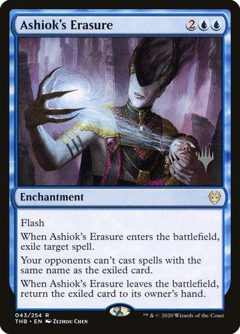 Ashioks Erasure - Foil - Promo Pack