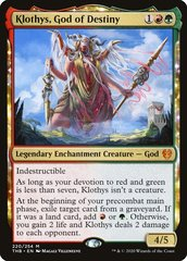 Klothys, God of Destiny - Foil - Promo Pack