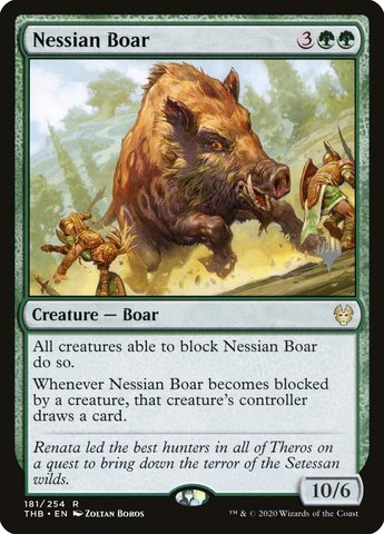 Nessian Boar - Promo Pack