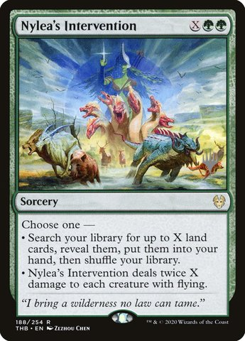Nyleas Intervention - Foil - Promo Pack