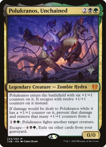 Polukranos, Unchained - Foil - Promo Pack
