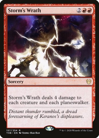 Storms Wrath - Foil - Promo Pack
