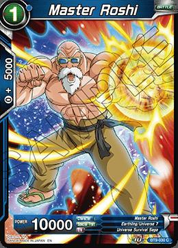 Master Roshi - BT9-030 - C - Foil