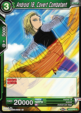 Android 18, Covert Combatant - BT9-042 - C - Foil