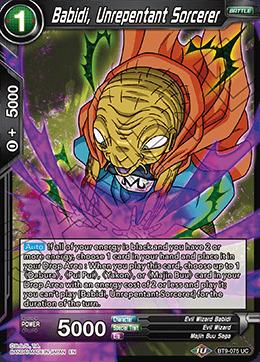 Babidi, Unrepentant Sorcerer - BT9-075 - UC - Foil