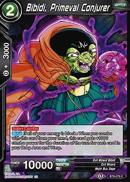 Bibidi, Primeval Conjurer - BT9-076 - C