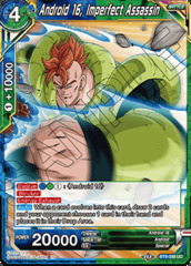 Android 16, Imperfect Assassin - BT9-098 - UC