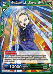 Android 18, Bionic Blitz - BT9-099 - C