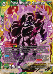 Toppo, Mortality Surpassed - BT9-120 - SR