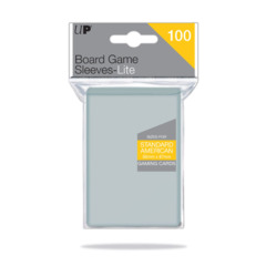 Ultra Pro - 56mm x 87mm Standard American Board Game Sleeves - Lite - 100ct