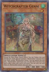 Witchcrafter Genni - IGAS-EN021 - Super Rare - 1st Edition