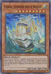 Utgarda, Generaider Boss of Delusion - IGAS-EN022 - Super Rare - 1st Edition