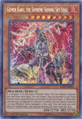 Gizmek Kaku, the Supreme Shining Sky Stag - IGAS-EN024 - Secret Rare - 1st Edition