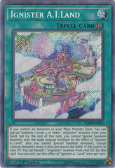 Ignister A.I.Land - IGAS-EN050 - Secret Rare - 1st Edition