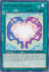 A.I. Love Fusion - IGAS-EN053 - Rare - 1st Edition on Channel Fireball