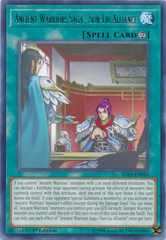 Ancient Warriors Saga - Sun-Liu Alliance - IGAS-EN056 - Rare - 1st Edition on Channel Fireball