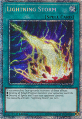 Lightning Storm - IGAS-EN067 - Prismatic Secret Rare - 1st Edition