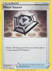 Metal Saucer - 170/202 - Uncommon