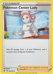 Pokemon Center Lady - 176/202 -Uncommon