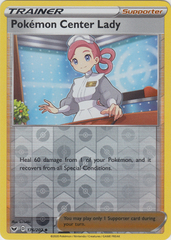 Pokemon Center Lady - 176/202 -Uncommon - Reverse Holo