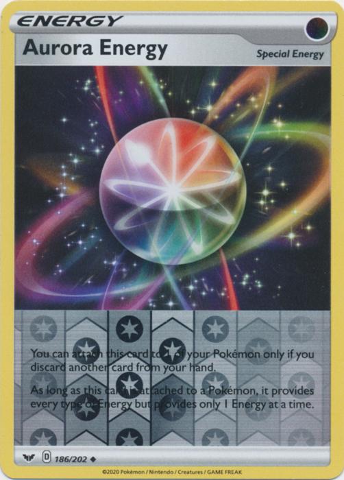Aurora Energy - 186/202 - Uncommon - Reverse Holo