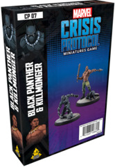 CP07 Marvel: Crisis Protocol - Black Panther and Kilmonger